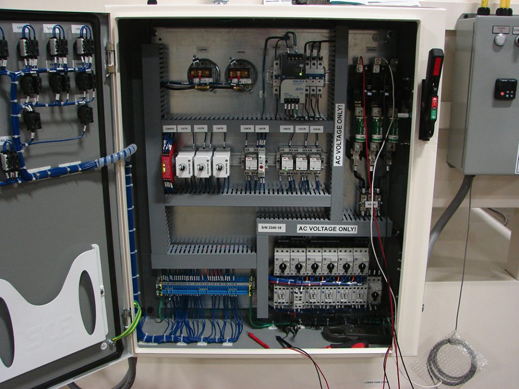 Central system control built to CE standards
