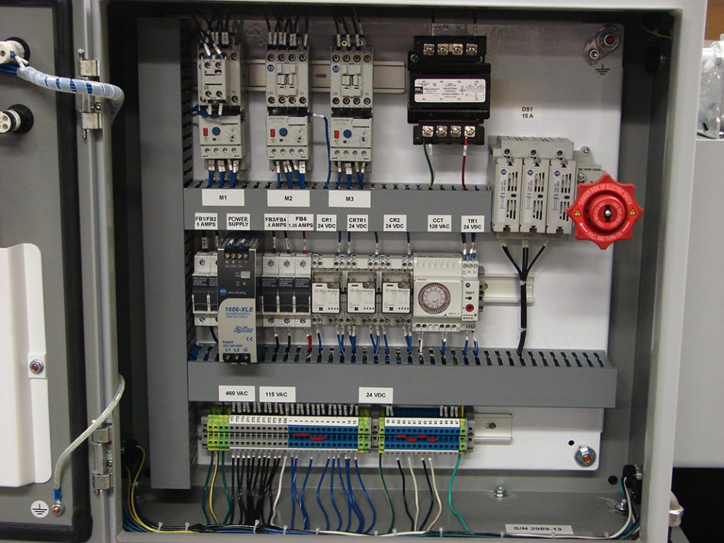 Control for installation in Mexico dual control voltage AC/DC
