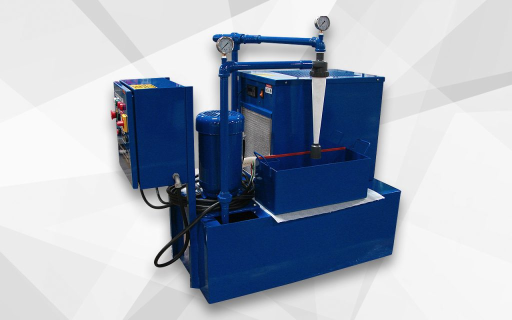 Cyclonic system for medical part grinding