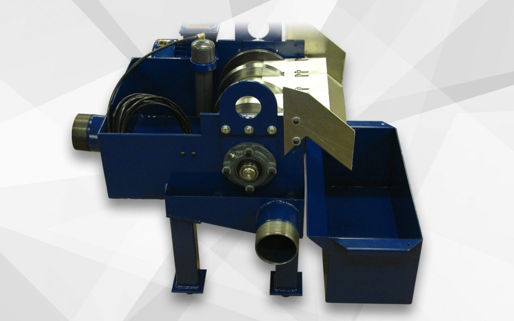Magnetic separator addition for separating high speed steel from oil